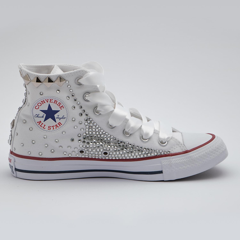 scarpe converse borchie