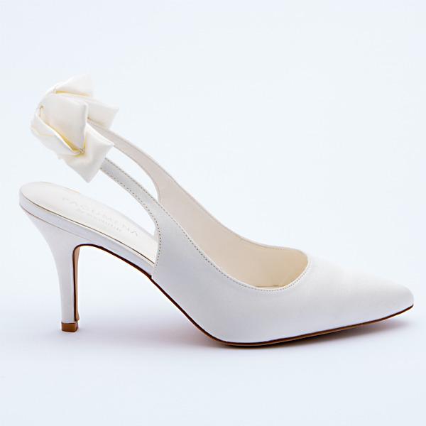 Chanel Scarpe Sposa.Patrizia Cavalleri Scarpe Sandalo Sposa Argento