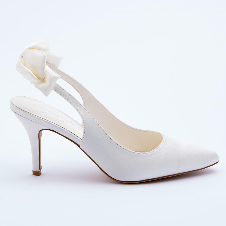 Scarpe Sposa Fiocco.Patrizia Cavalleri Scarpe Scarpa Sposa Modello Chanel Con Fiocco