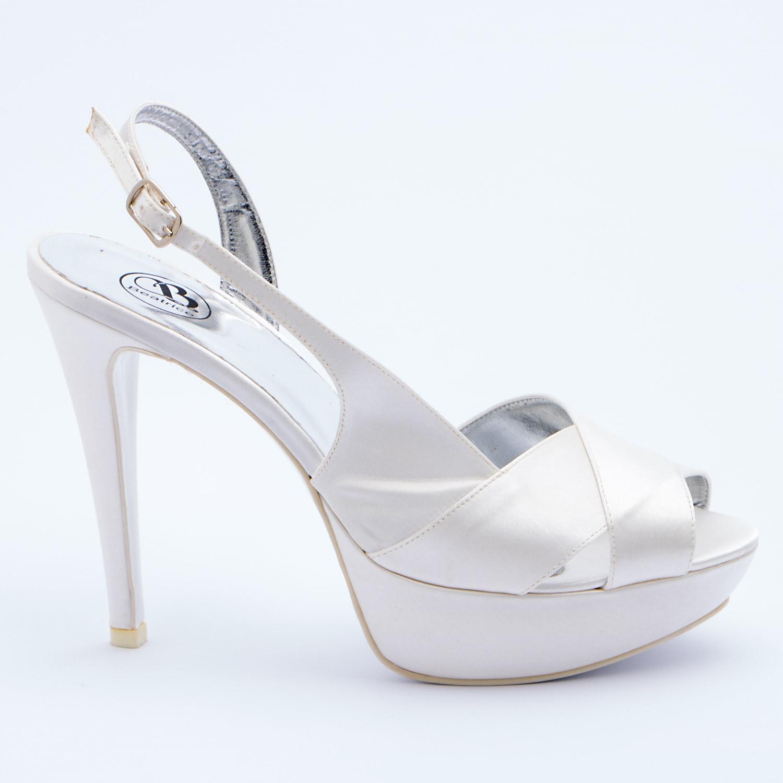 sports shoes 04add 2de99 Patrizia Cavalleri | Scarpe | Sandalo sposa in raso