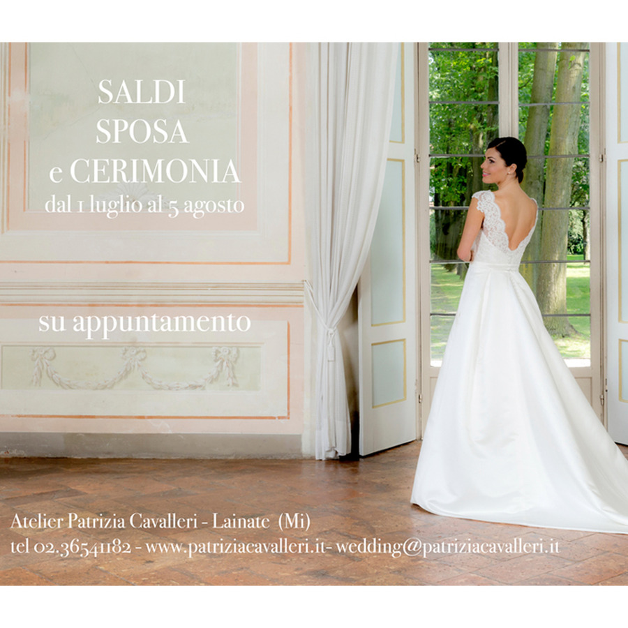 ad316dc5f4c8 Pronte per i saldi   Una grande occasione sia per acquistare il tuo abito  da sposa sia per scegliere un abito da cerimonia.